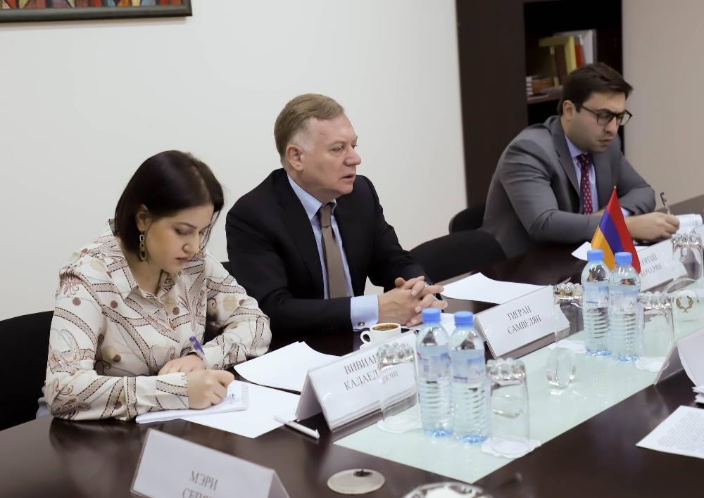 Քաղաքական խորհրդակցություններ ՀՀ և ՌԴ արտաքին գործերի նախարարությունների միջև