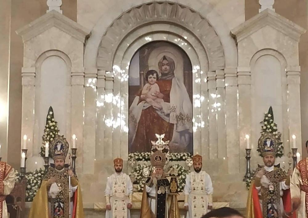 Ամենայն հայոց կաթողիկոսի  պատգամը՝ Հիսուս Քրիստոսի Ծննդյան և Աստվածահայտնության տոնի առթիվ