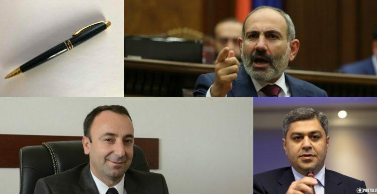 Գրիչը, Թովմասյանը, Վանեցյանն ու Փաշինյանը. ի՞նչ են թաքցնում պաշտոնյաները